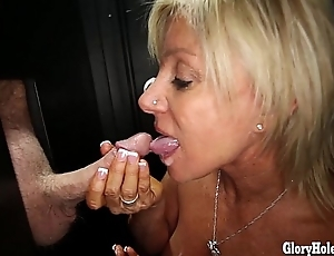 Gloryhole Secrets Grown-up pretty good shows off her years be advisable for skill
