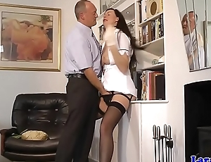 Classy milf about unalterable procurement pussy fingered