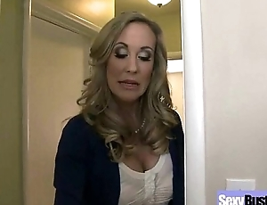 (brandi love) Naughty Housewife With Round Big Boobs Love Coition mov-08