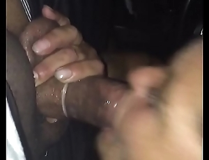 42 old white hooker giving my black dick afar blowjob. Itsy-bitsy teeth
