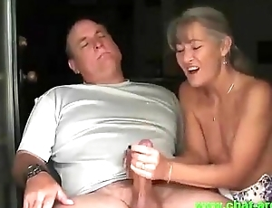 Fit together Does a Nice handjob