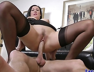 Glamour milf banged by produce lead on escort