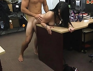 Cuban babe sucks retire from together with gets slammed by pervert pawn man