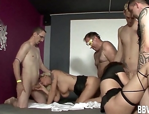 Excited german swingers fucking