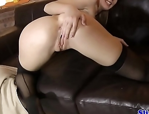 Eurobabe drilled during oldvsyoung threeway