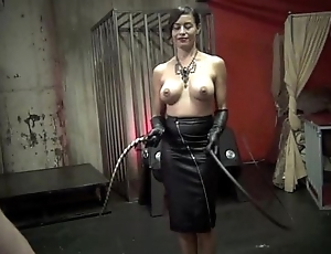 Eradicate affect Artisticness OF WHIPPING pt 2 - Starring Mistress Maxine