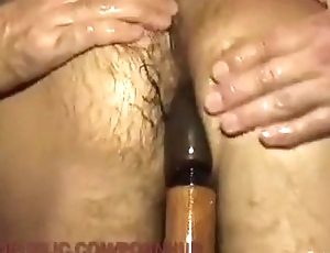 Submissive stud is fucked by a room abundant fellows