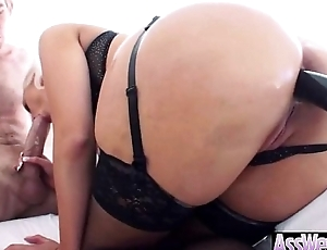 Anal Hardcore Sex With Big Wet Oiled Up Big Ass Hot Girl (jenna ivory) vid-13