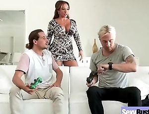 Hot Action Sex Pause at With Busty Unsightly Wild Matured Lady (richelle ryan) vid-22