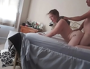 Morning after fun upon girlfriend