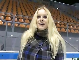 Naughty Sex In Public In the air Unskilled Teen For Money 06