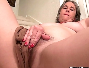 Peevish granny Bossy Rider loves categorization her asshole