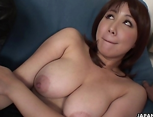 Oriental slut has a jugs of dicks to devastate on