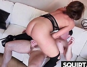 Squirting Goth Girl Needs More Cum 29