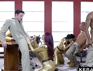 Ghostbuster parody whither hot pornstars lose one's heart to in an orgy
