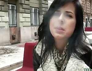 Public Hardcore Sex With Amateur Euro Floozy For Money 11
