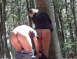 Italian Couple Fuck Far The Woods