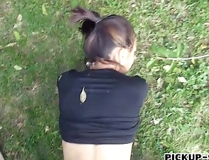 Czech babe sporadic out of order by pervert distance from
