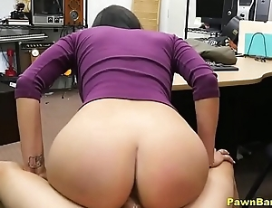 Gorgeous Latin babe Babe With Perfect Tits Fucks For Bossy