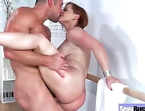 Busty Slattern Housewife (katja kassin) Banged Hardcore On Tape movie-17