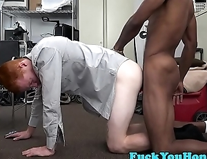 Interracial amateur ginger ass in dire straits fucked