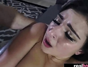 Hardcore Sex With (leah gotti) Hot GF Loving Intercorse On Cam clip-21